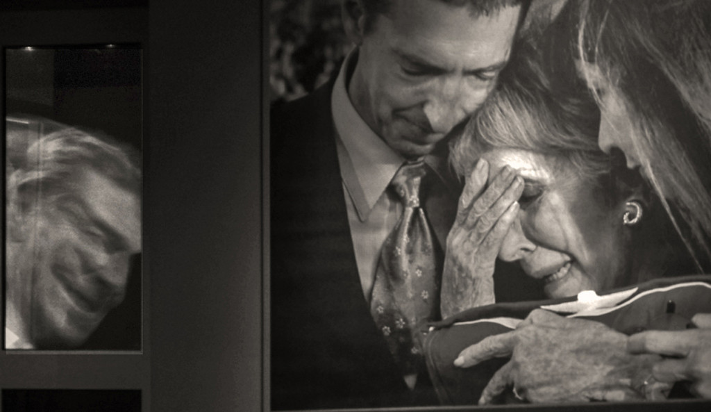 Mourners and memories, Reagan Library, Simi Valley, California