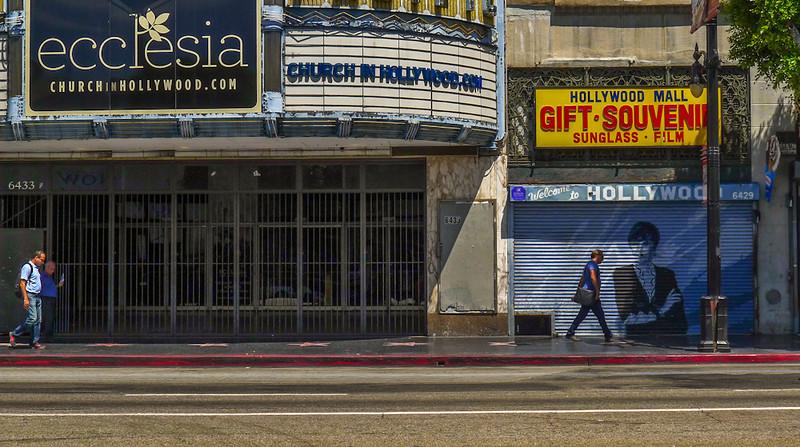 Recycled theatre, Hollywood, California