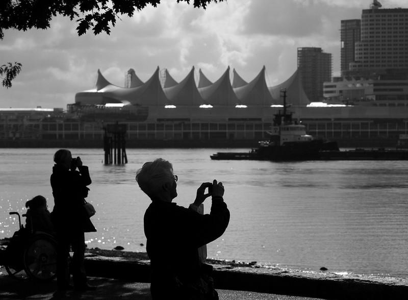 Photo op, Vancouver