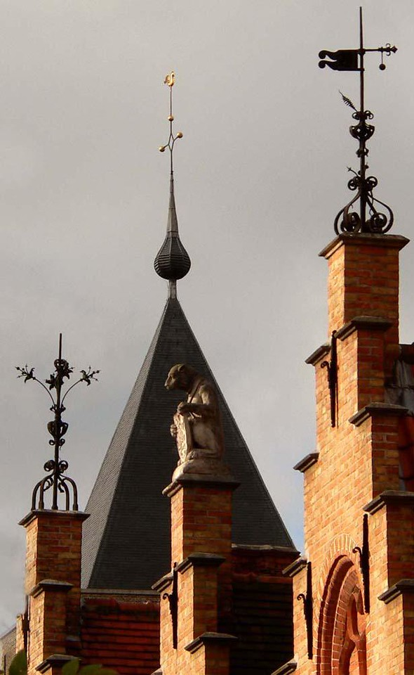 Weathervanes of Old Bruges - The skyline of medieval Bruges is capped with fanciful weathervanes and sculpture.