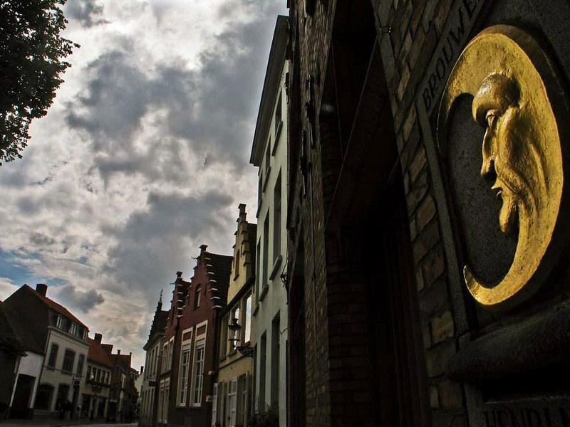 Streets of Old Bruges - The streets of old Bruges are still lined with the 500 year old mansions of the cloth merchants.