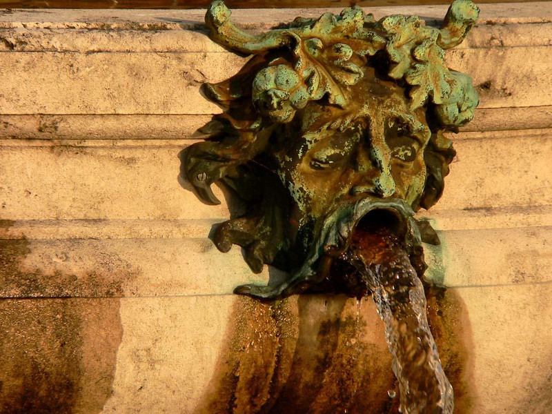 Lusty Fountain, Brussels - This particular fountain passes far more water than Brussels famed Manneken Pis statue, but remains unloved and unknown.
