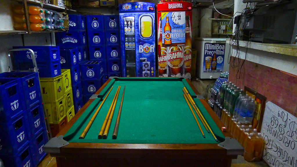Pool Hall, Rio Favela