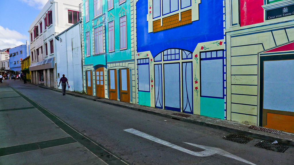Faux street, Bridgetown