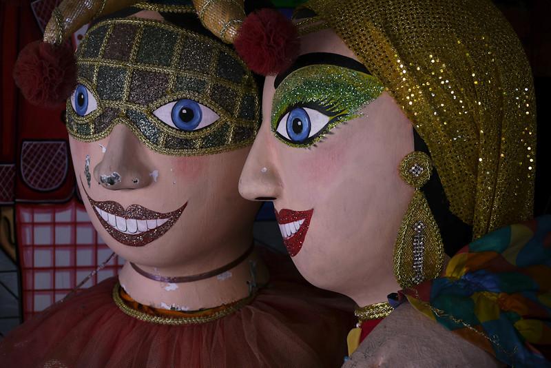 Carnival figures, Recife