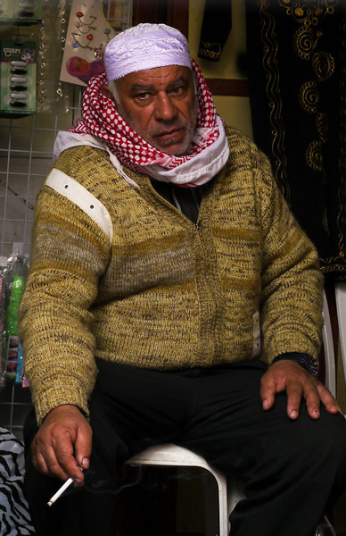 Shopkeeper, Jerusalem, Israel