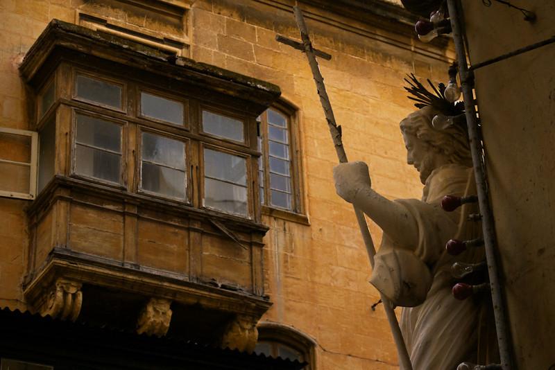 Street corner, Valletta, Malta