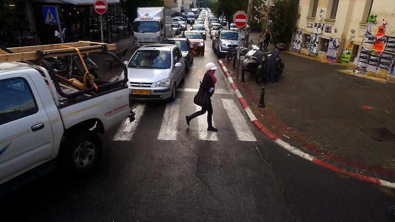 Traffic, Tel Aviv, Israel