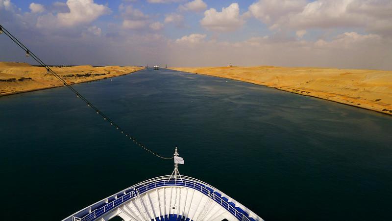 Suez Canal, Egypt