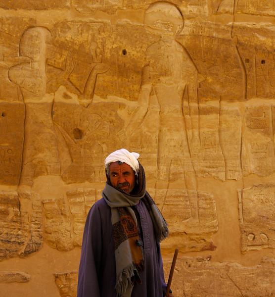 Habu Temple, Luxor, Egypt
