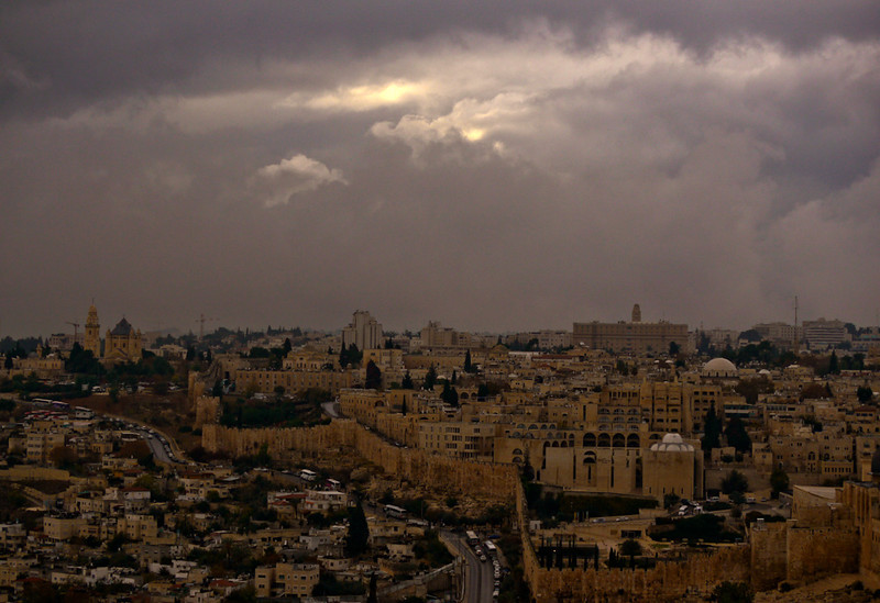 Evening, Jerusalem, Israel