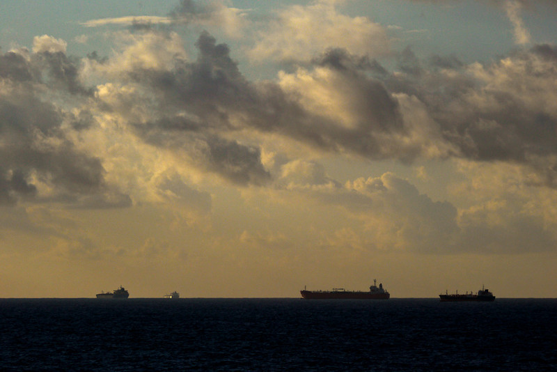 Tankers off Malta