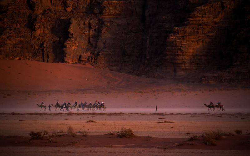 Dusk, Wadi Rum, Jordan