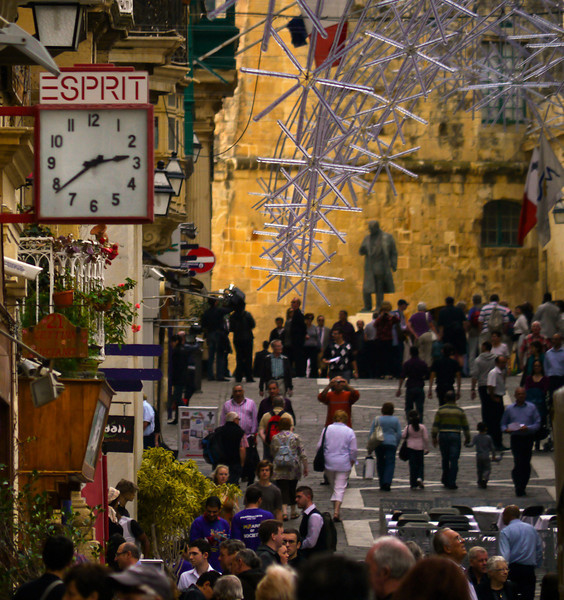 Merchants Street, Valletta, Malta