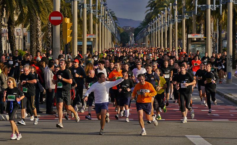 Marathon, Barcelona, Spain
