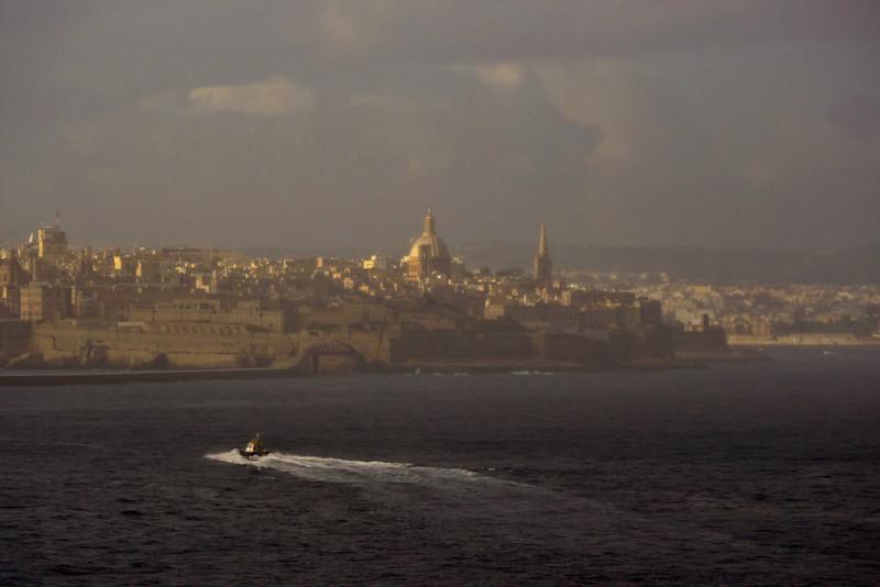 Arrival, Valletta, Malta