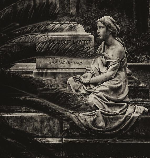 24 Marble mythology, Bonaventure Cemetery, Savannah, GA