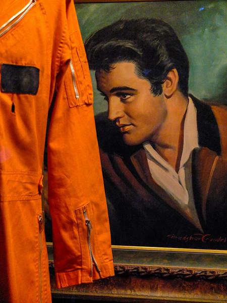 Orange jumpsuit, Graceland, Memphis, Tennessee
