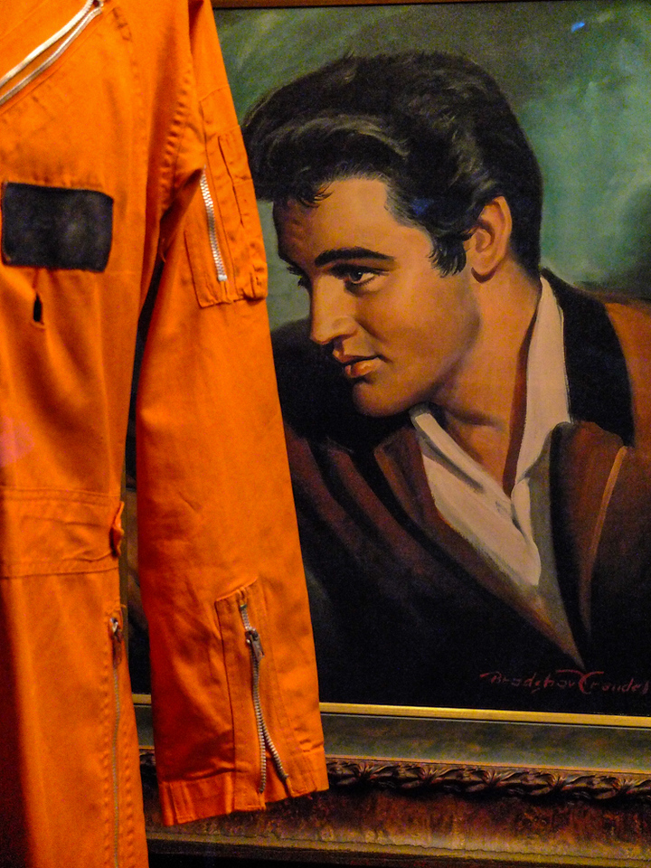 Orange jumpsuit, Graceland, Memphis, Tennessee