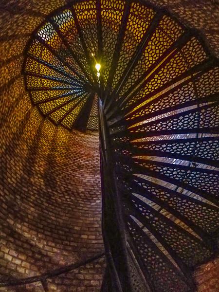 One Hundred Seventy Seven Steps, Pensacola Lighthouse, Pensacola, Florida