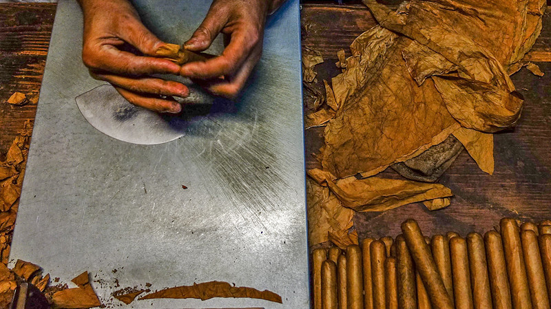 Cigar factory, New Orleans, Louisiana