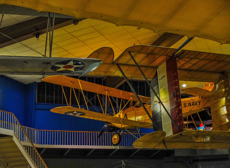 Wings of the past, National Naval Aviation Museum, Pensacola, Florida