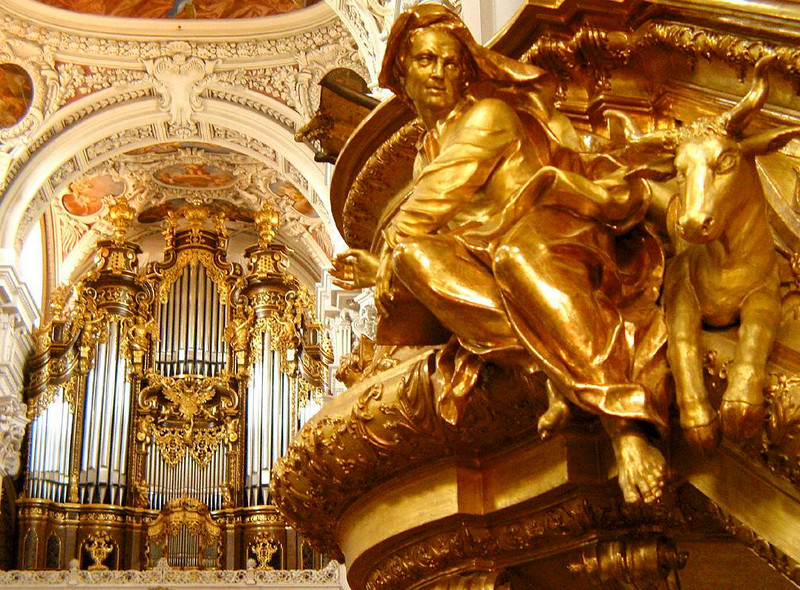 The Sound of Passau - Within Passau's Stephansdom is the largest church organ on earth. With more than 17,000 pipes, its sound more than fills the walls of this 500 year old church.