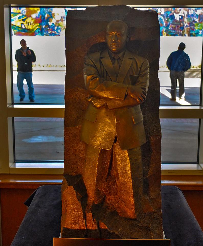 61  Model of King Memorial, National Park Service Visitor Center, Martin Luther King, Jr  National Historic Site, Atlanta, Georgia