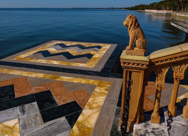 32  Venetian boat landing, John Ringling Mansion, Sarasota, Florida