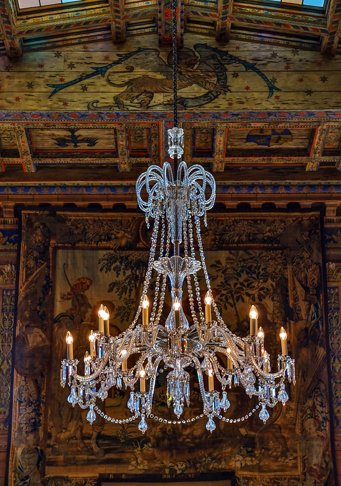 31  The Waldorf Chandelier, Great Hall, John Ringling Mansion, Sarasota, Florida