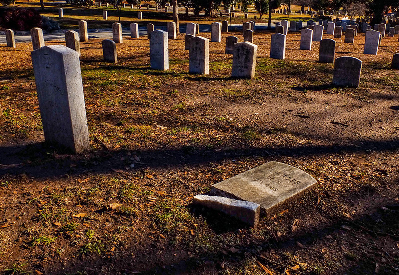 68  Fallen soldier, Oakland Cemetary, Atlanta, Georgia