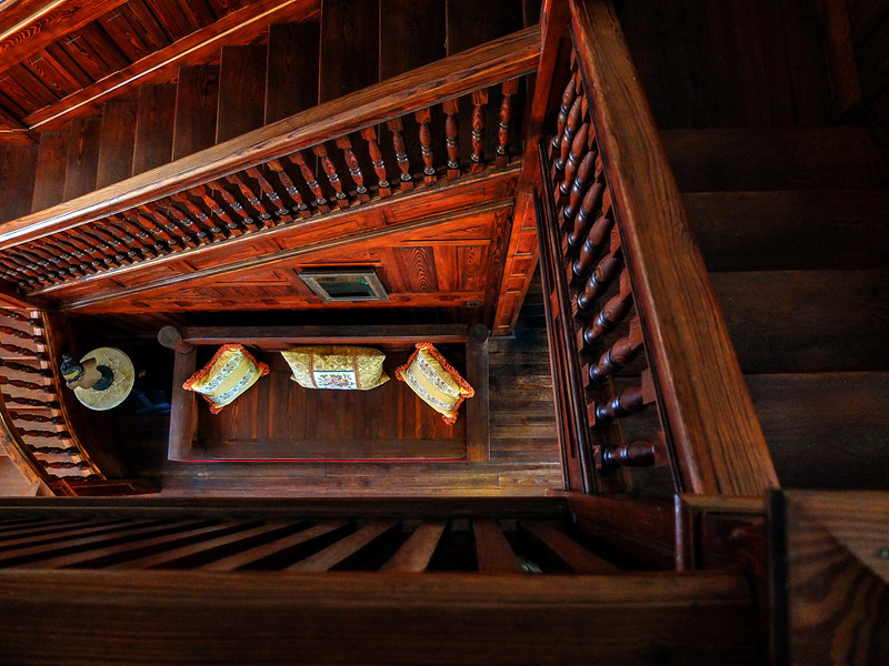 29  Handmade staircase, Koresham Utopian Community, Estero, Florida