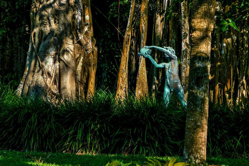 30  Banyan garden, John Ringling Estate, Sarasota, Florida