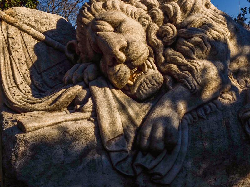 67  The Lion of the Confederacy, Oakland Cemetery, Atlanta, Georgia