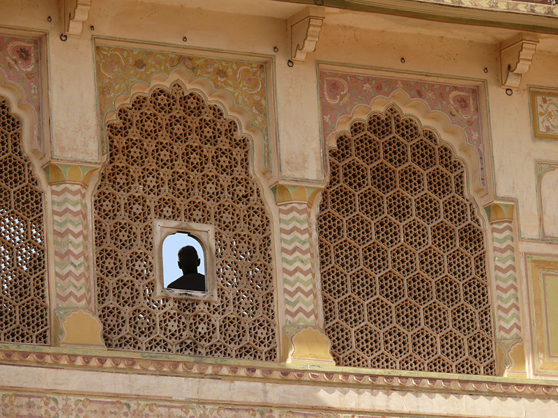 The gallery, Amber Palace, Jaipur