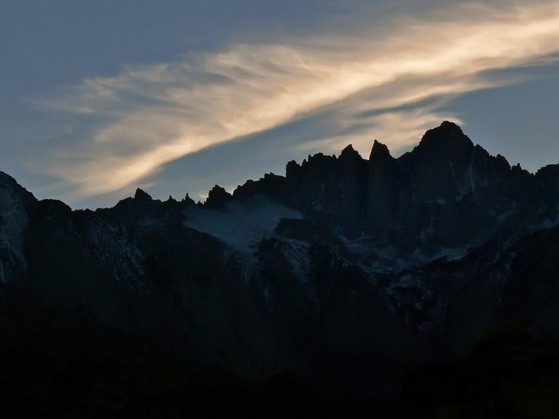 Mount Whitney - Mount Whitney, at over 14,000 feet, is the highest mountain in the US, outside of Alaska.