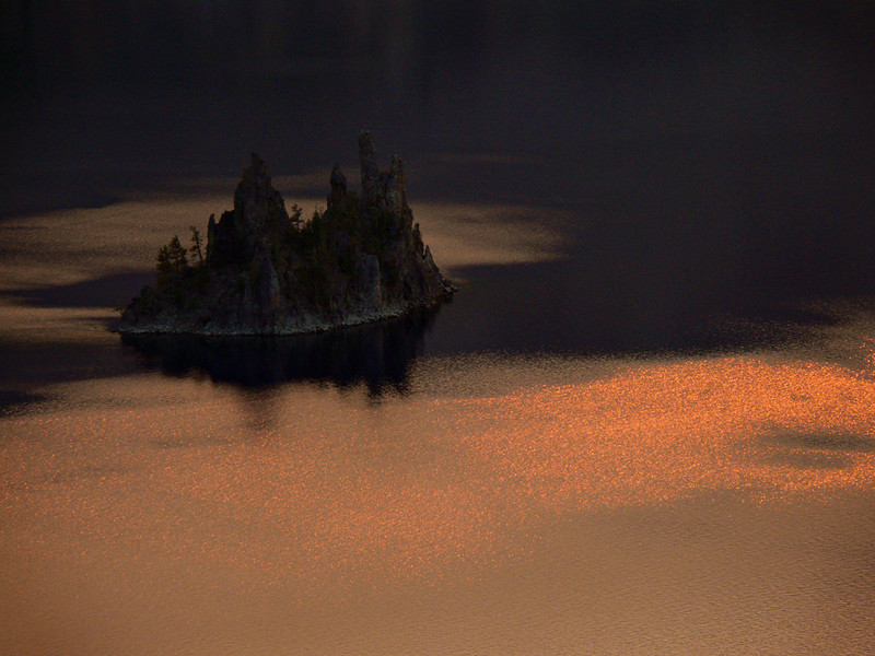 Phantom Ship, Crater Lake OR