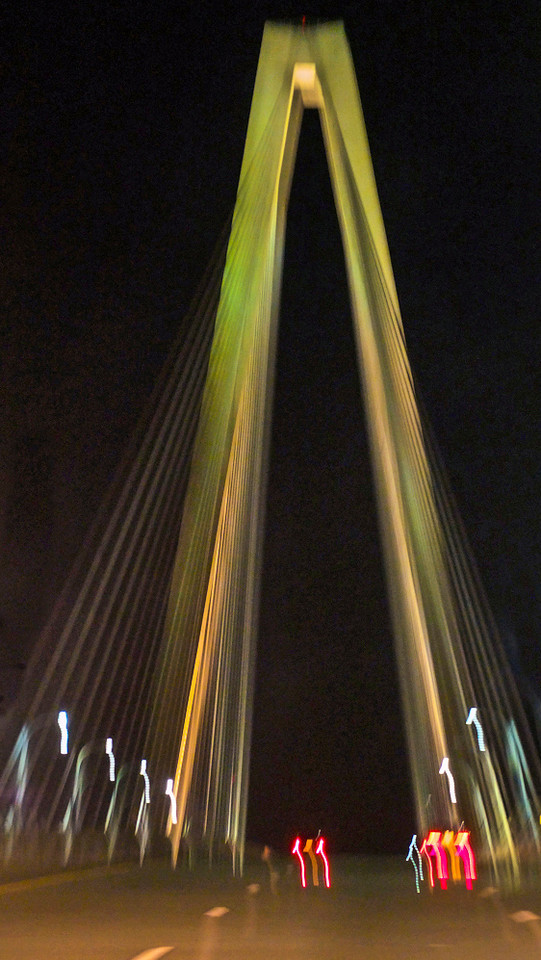 59  Night crossing, Ravenel Bridge