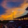 58 Evening sky over Riley Park