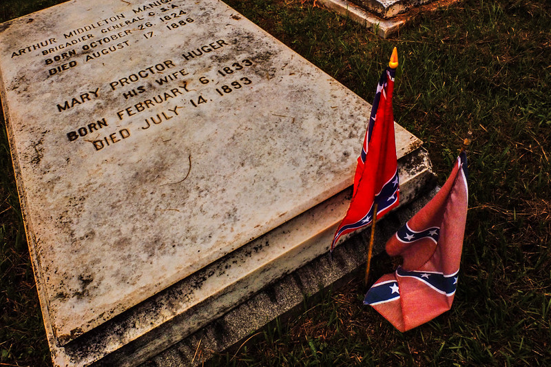 37  Rebels forever, Magnolia Cemetery