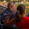 55 Baseball fans, Riley Park