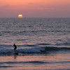 25  Sunset surfer, Imperial Beach, CA