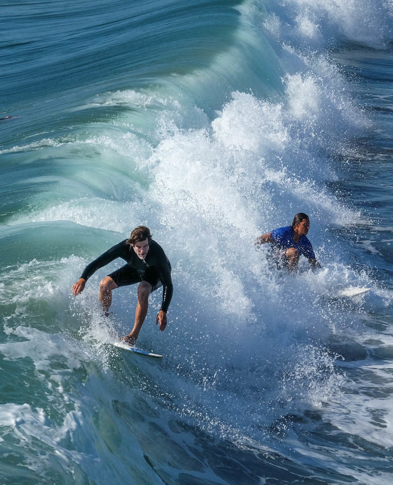 10  Sharing the waves, Imperial Beach, CA