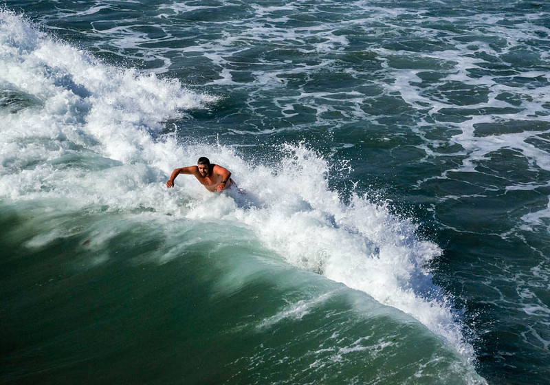 20  Riding the wave, Imperial Beach, CA