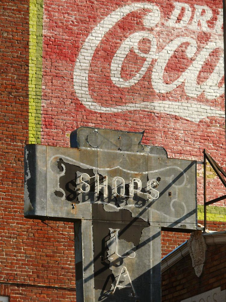 Signs of the times, Petaluma - Historical preservation of its old buildings and signage helps Petaluma maintain the image of a place where time seems to stand still.