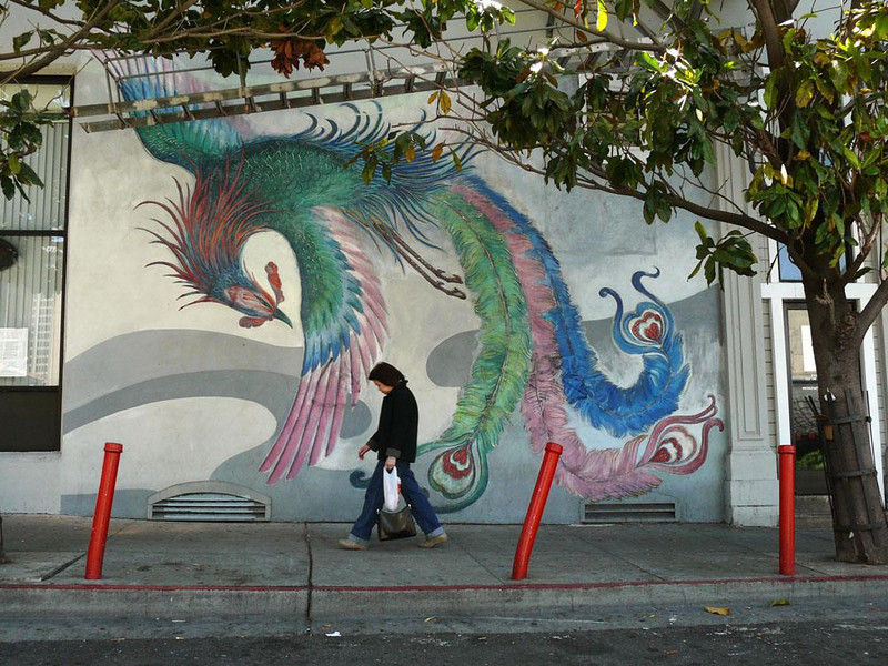 Chinatown, San Francisco - Thousands of Chinese laborers came to San Francisco between 1850 and 1900 to work on the railroads and in the gold fields. They created a community that became the largest Chinatown in North America.