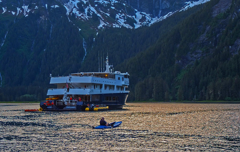 30  Safari Explorer at anchor off Baranof Island, AK
