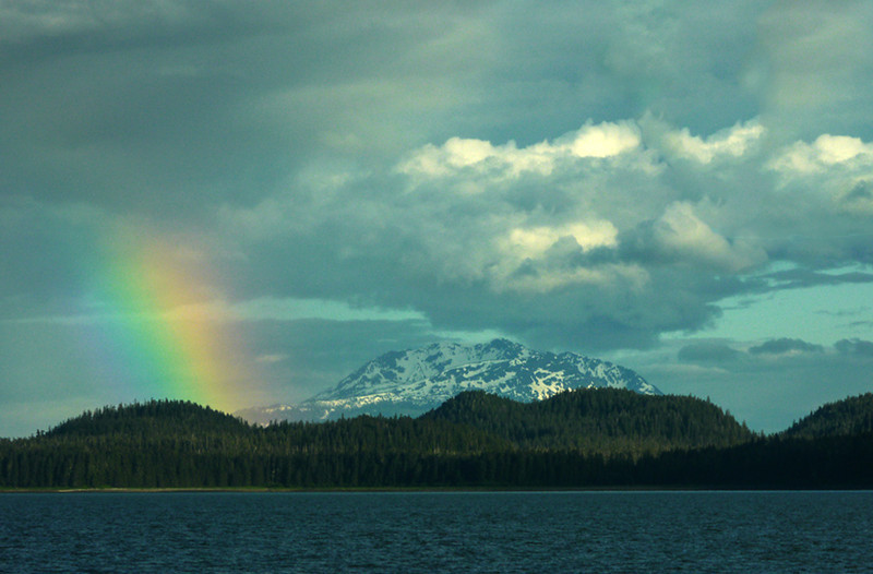 2  Rainbow over Admiralty Island, AK