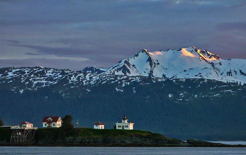 4  Point Retreat Lighthouse, Admiralty Island, AK