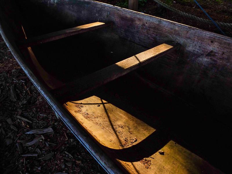8 Tlingit canoe, Barlett Cove, AK